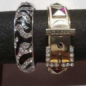 2 Guess bracelets